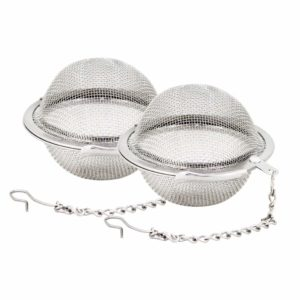 Fu Store Two-Pieces Mesh Tea Ball infuser