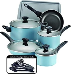 Farberware 21894 Dishwasher Safe Nonstick Cookware Pots