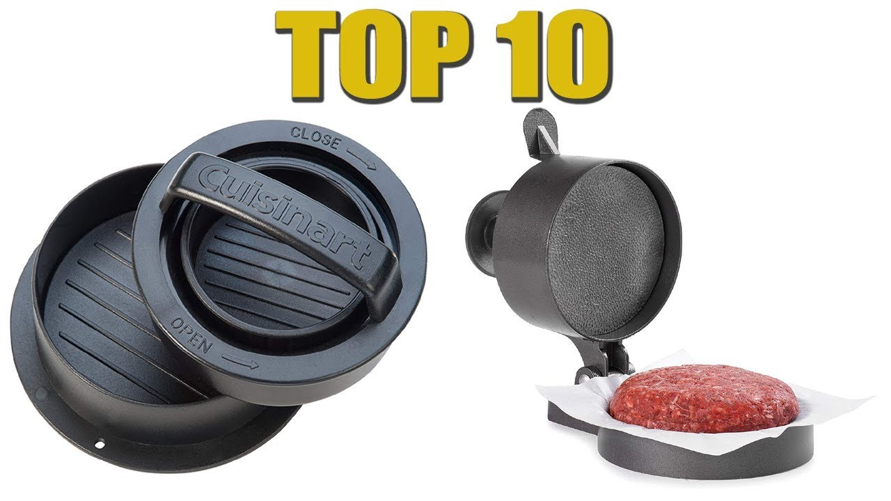 Best Burger Press 2020 – Reviews and Buying Guide