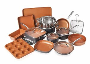 Gotham Steel 20 Piece All in One Kitchen Cookware set