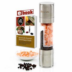 Lifestyle Dynamics the Original Spice Crafts Salt and Pepper Grinder Set