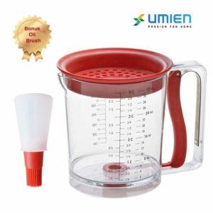 Umien Fat Separator and Pancake Cupcake Batter Dispenser